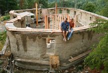Hobbit Holes / Inspirations for building with cob.