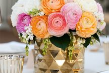 Flowers and centerpieces for events / Decoracion