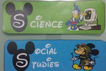 mickey mouse theme classroom