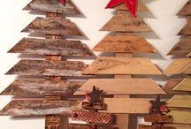 seizoen ideeën met pallet hout