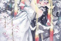 Taupe Syuka. Illustrations. Watercoloure