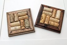 Wine Corks & Crafts / by Bonnie