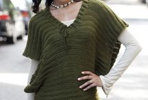 crafts- yarn: wearable- tops / by Crow Childe