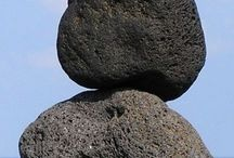 Stone Stacking Sculpture