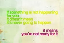 Quotes / by Meghan Green