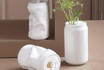 décoration en matériaux recyclés