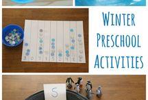 preschool winter unit