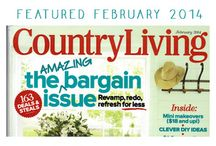 RVT in Country Living Magazine, Feb 2014 / Celebrating the feature story on our Round Top home and its decor, our modern vintage lifestyle, and our family.
