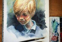 Fan Art / Peinture partagées par les fans et les utilisateurs de la marque Léonard.