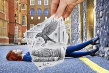 Pencil Vs Camera by Ben Heine  / by Pearl Spiller