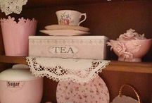 Tea hutch / by Krista Clayton