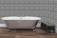 UKAA Bathroom Range / UKAA buy and sell a range of New Cast Iron Slipper and Cast Iron Roll Top Baths which we can paint in your bespoke colour of your choice. The baths are cast iron and have lovely decorative feet. They come in lots of different sizes to fit all spaces. A cast iron bath is a traditional feature to have in a bathroom bringing a period look to a bathroom. It also works well in a modern setting. for information on looking after your cast iron bath see our guides on our website.