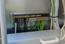 Switchboards / Switchboards, meter boxes and control panels.