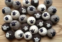 Needle feltings