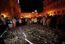 Maketa: Zagreb pozdravlja / A Scale Model: Zagreb Welcomes You / Svečano predstavljanje skulpture - makete grada Zagreba: Zagreb pozdravlja /A Scale Model of Zagreb City - Zagreb Welcomes You