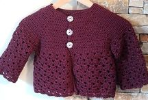 gilet crochet et tricot