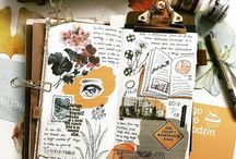 Journaling & stuff / Journaling, Traveler's Notebook , mail art, happy mail, books