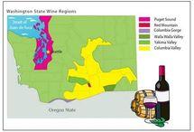 Washington, USA - Wine districts