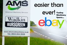 AMS + Wadkin Bursgreen + Ebay / We are working with Ebay so, you can buy all our equipment online such as Machinery, Tooling, Spares...Come on! It is NOW easier than ever! http://stores.ebay.co.uk/Wadkin-Bursgreen-Woodwork-Machinery?_trksid=p2047675.l2563  #AMS #WadkinBursgreen #WB #WoodMachinery #Rebuilding
