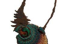 Micro Macrame / Macrame, jewelery, jewellery, bijoux, art