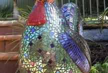 3D Animal mosaic art