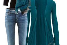 teal saco/suéter