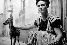 Frida Kahlo / Inspiration / by Janelle Jeffs