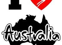 """Down Under Australia"" / I blame this board on ""Aussie Girl""...Too Cool...Thanks Lori!!!!! / by Cherie Byrnes"