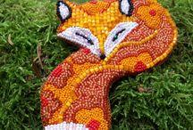 "MY WORK. Brooch-pendant ""Fox"""