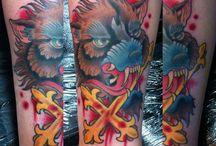 Adrenaline Toronto Colour Tattoos / Tattoos done at Adrenaline Toronto