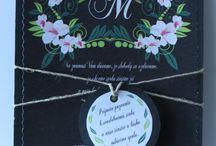 svadobne oznamenie - vintage / svadobne oznamenie -Vintage