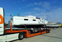 Oceanis 35 - Beneteau / Our new arrival in Trogir - waiting for the summer season
