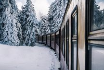 aes ❁ the polar express / The thing about trains... it doesn't matter where they're going. What matters is deciding to get on.