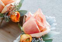 Bloem corsages, flowers