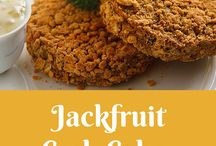Ⓥ Jackfruit Recipes / Delicious vegan recipes and ideas for using jackfruit, the meat substitute you need to know about! | Recipes for vegan and vegetarians, some healthy and some gluten-free