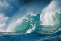 The Sea / The waves of the sea help me get back to me ~ Jill Davis   / by Mich Ledonne