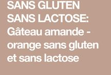 Gâteau sans gluten a l orange