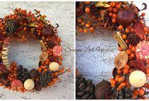 Autumn decorations & Jesienne dekoracje by Sempre La Perfezione Florystyka i Dekoracje / Jesienne dekoracje, aranżacje, pomysły na wystrój wnętrz