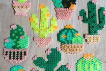 Kaktus-hama beads