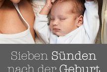 Wichtig für nach der Geburt!
