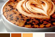 Color palettes BROWN Palety kolorów - brązowy