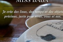 blog (french and english)