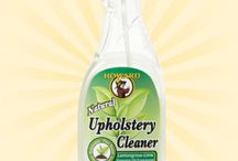 Upholstery Cleaner / Howard Upholstery Cleaner easily breaks down stains and spills on all types of upholstery, fabric and rugs. This natural cleaner gently removes dirt, oil, and grime from even the finest upholstery, Oriental rugs, and automotive interiors.