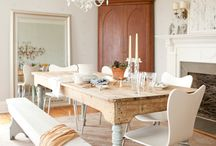 Dining Room Inspiration / by Rhiannon Nicole Bosse