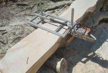 Dřevo - Řezání, frézování aj.