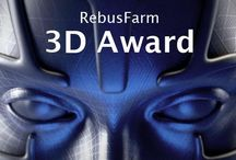 3D Artist of the Month / Monthly RebusFarm 3D Art Contest on Facebook! We promote your work on all social media platforms for a whole month & in addition you will receive 250 Renderpoints worth 250 Euro!