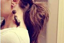 hairstyles & make up