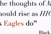 The Thoughts of man should fly as High as Eagles / Icons from Inukt.com