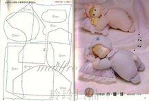 panenky střihy - TILDA