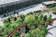 Architectural studies- industrial landscape